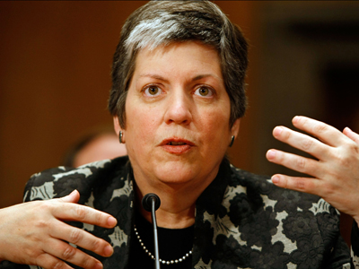 Janet Napolitano Testifies At Senate Confirmation Hearing